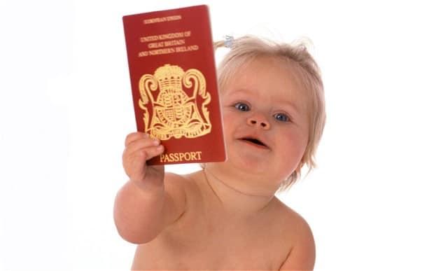 Child passport