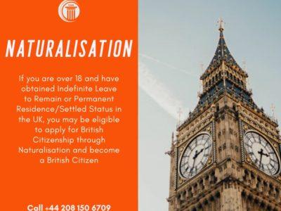 British Naturalisation requirements