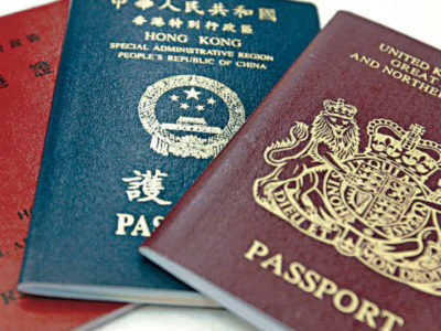 British Citizenship to Hongkongers