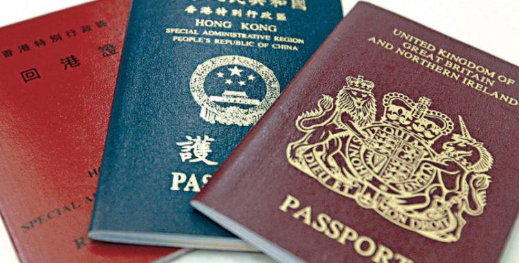 British Citizenship to Hongkongers