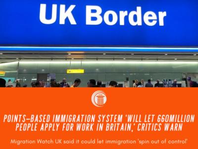 points based system visa