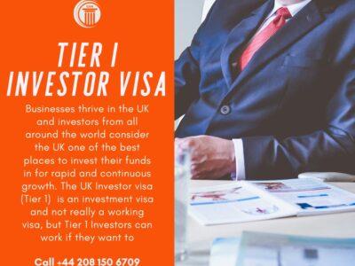 tier 1 uk investor visa
